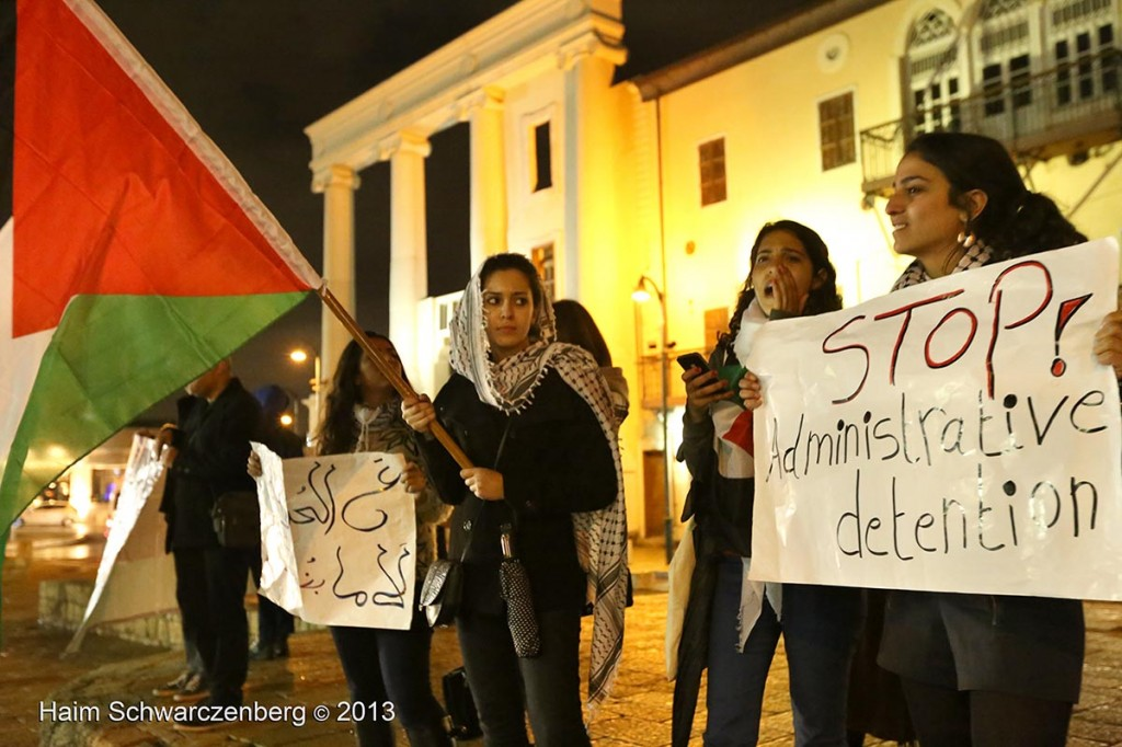 Demonstration in support of Samer Al-'Issawi. Jaffa   IMG_3298