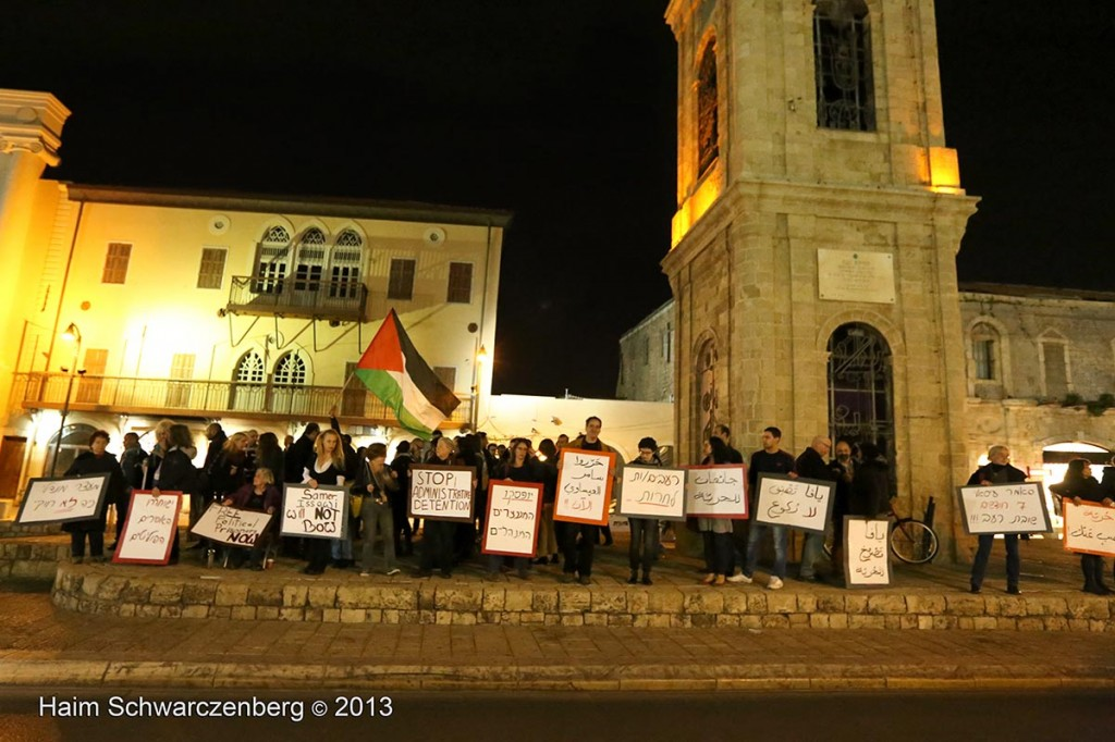 Demonstration in support of Samer Al-'Issawi. Jaffa | IMG_7405