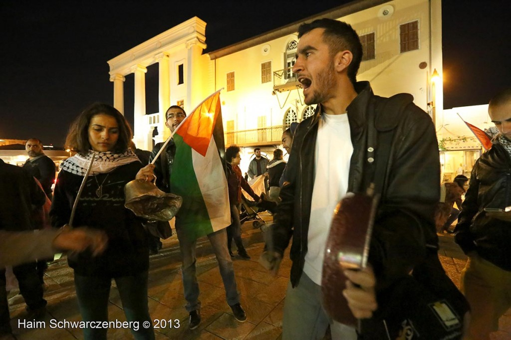 Demonstration in support of Samer Al-'Issawi. Jaffa | IMG_7849
