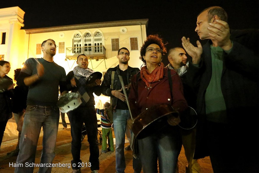 Demonstration in support of Samer Al-'Issawi. Jaffa | IMG_7953