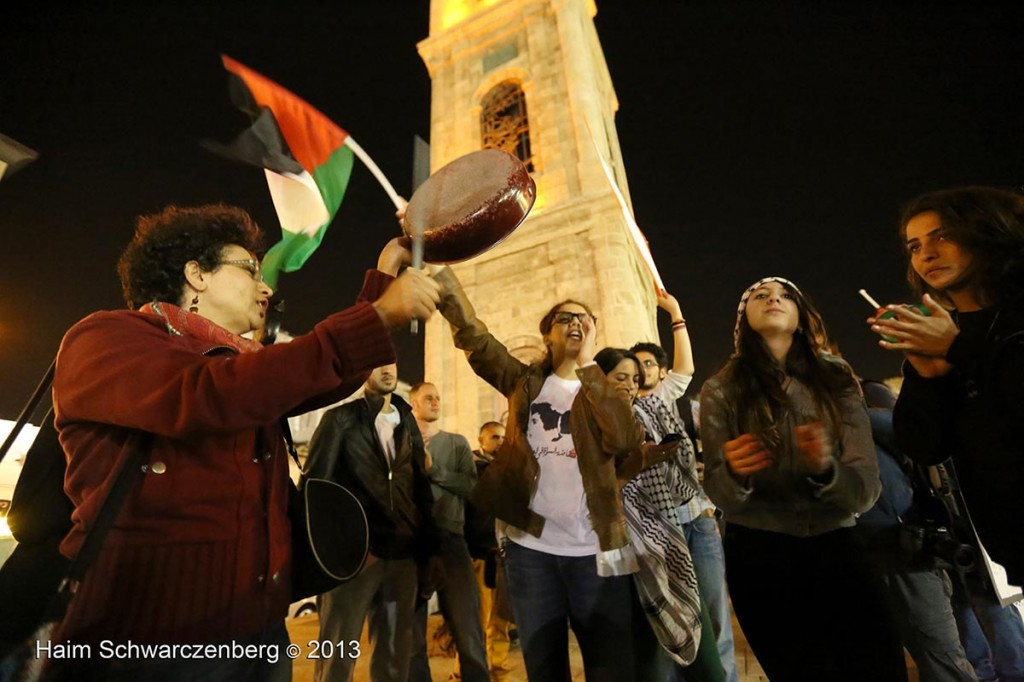 Demonstration in support of Samer Al-'Issawi. Jaffa | IMG_7981