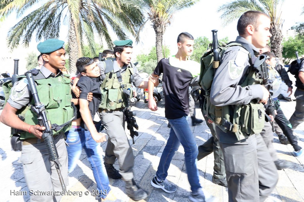 Zionist 'Jerusalem Day' march, Palestinian counter-protest | IMG_2999