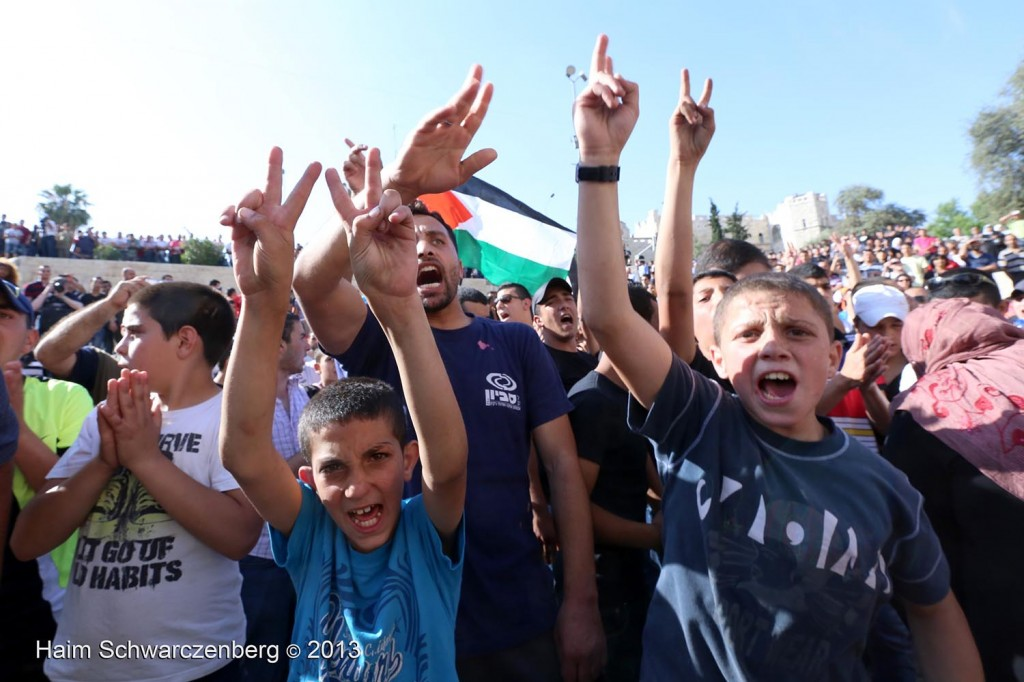 Zionist 'Jerusalem Day' march, Palestinian counter-protest | IMG_3076