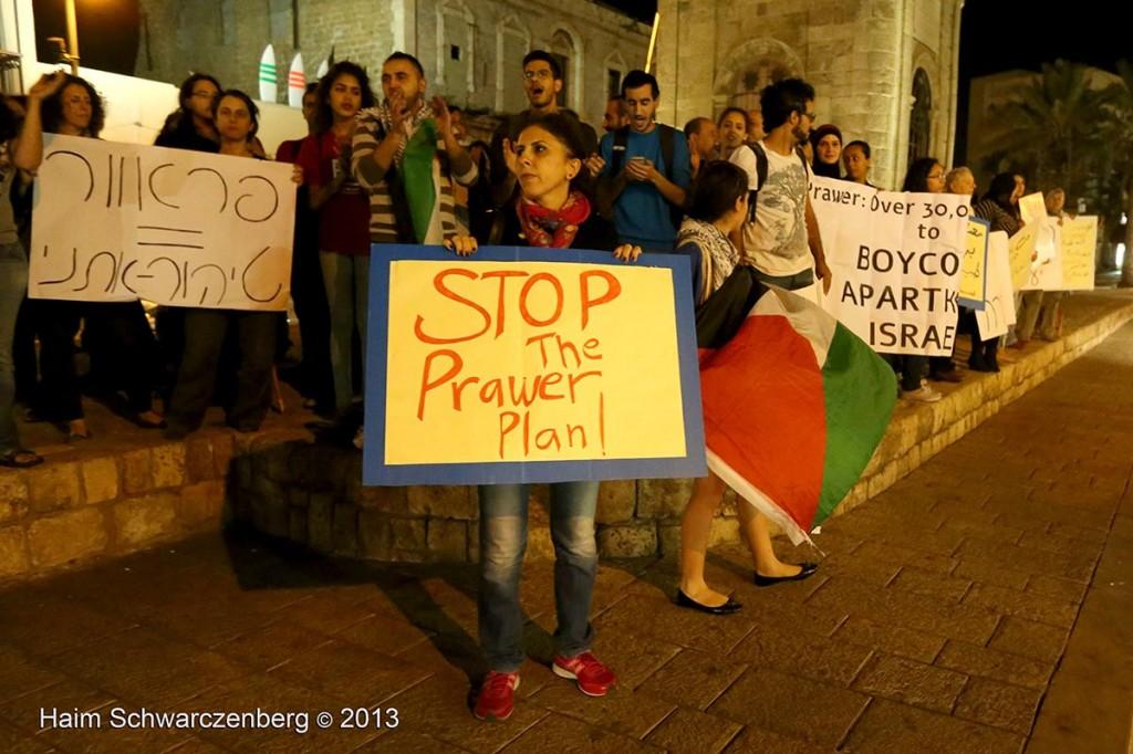 Yaffa demonstration against the Prawer Plan, 28.11.2013 | IMG_8137