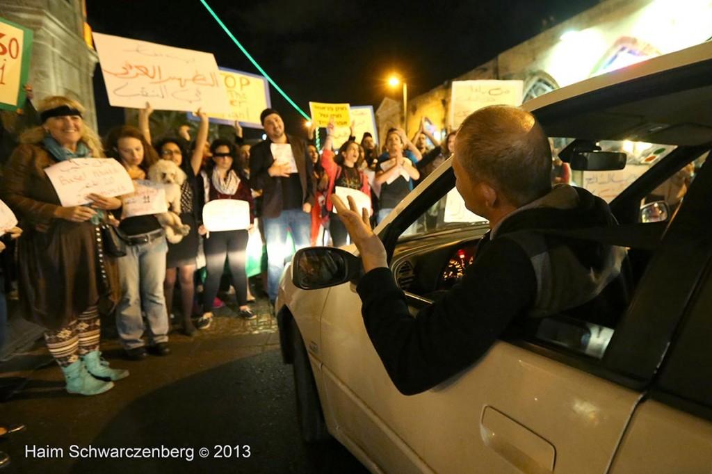 Yaffa demonstration against the Prawer Plan, 28.11.2013 | IMG_8206