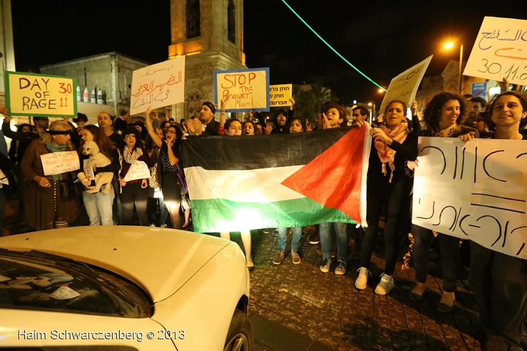 Yaffa demonstration against the Prawer Plan, 28.11.2013 | IMG_8226
