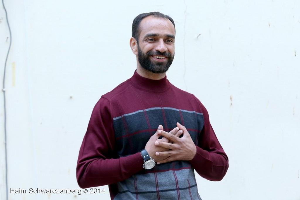 Samer al-'Issawi in Jaffa | IMG_3751