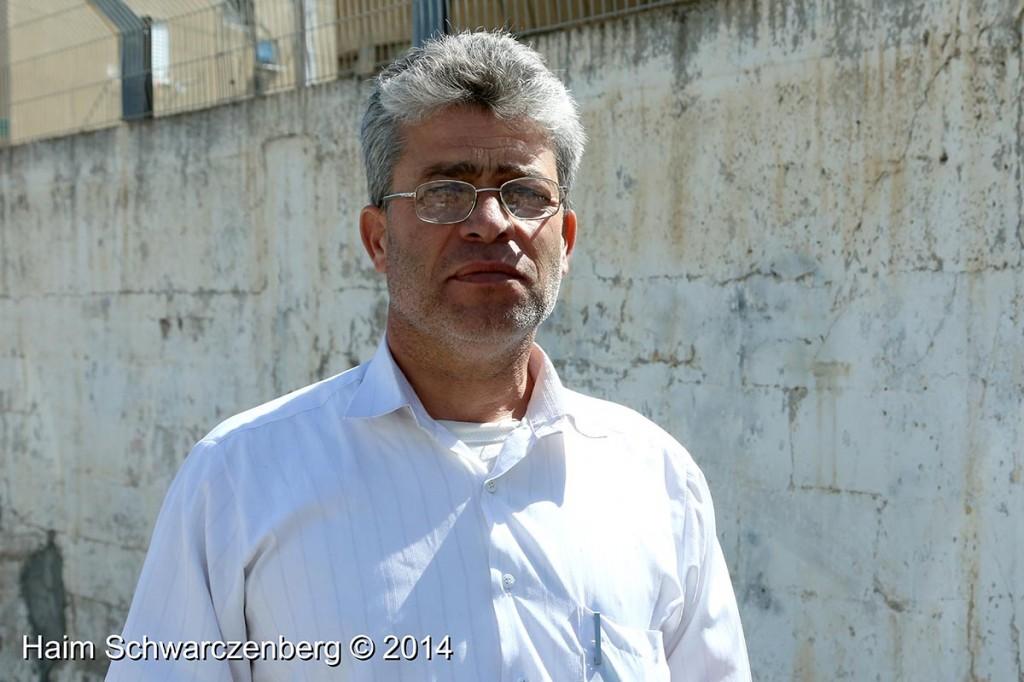 Testimony of Bilal Tamimi, Military Court, Jaffa 31.3.2014 | IMG_8870