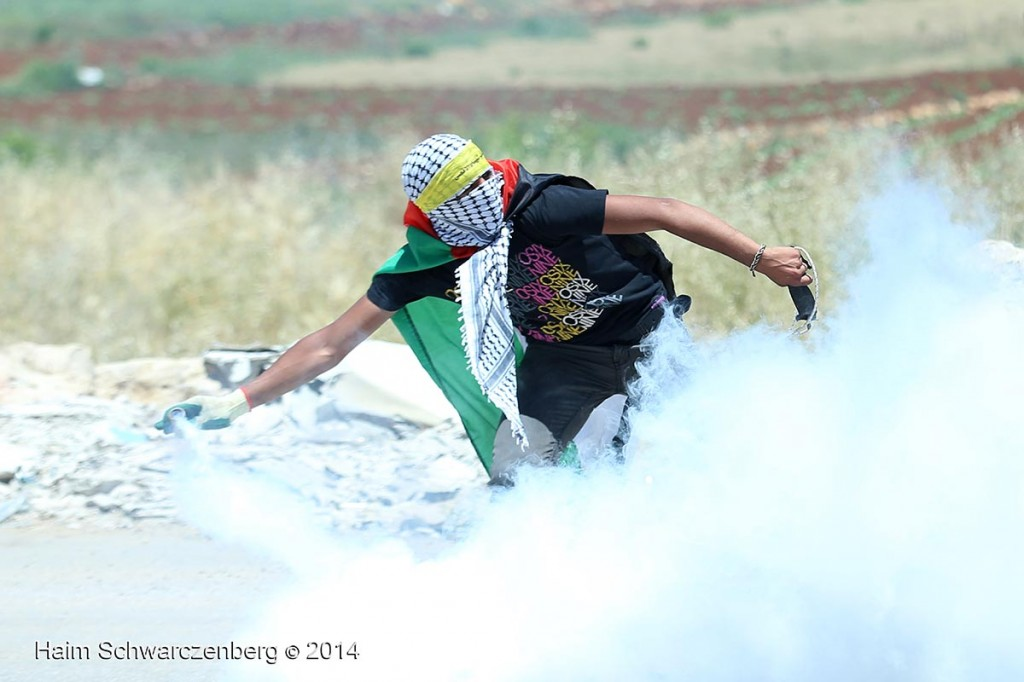 66th Nakba Day Commemoration, Ofer Military Prison, Bitunia 15/05/2014 | IMG_1587