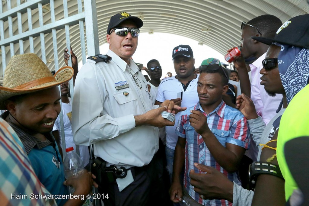 World Refugee Day 2014, Holot detention facility, Israel 20/06/2014 | IMG_6176