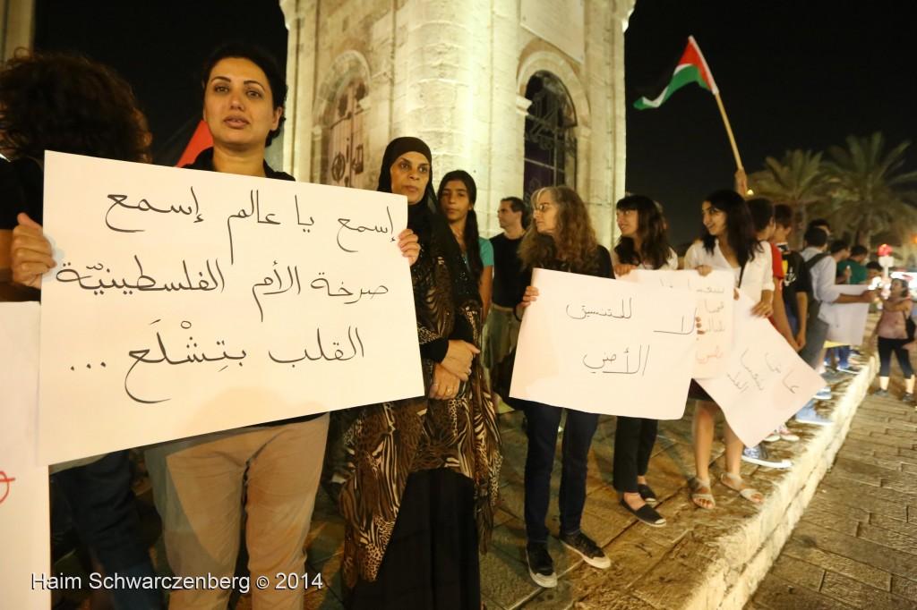 Demonstration against racist violence, Yafa | IMG_8305
