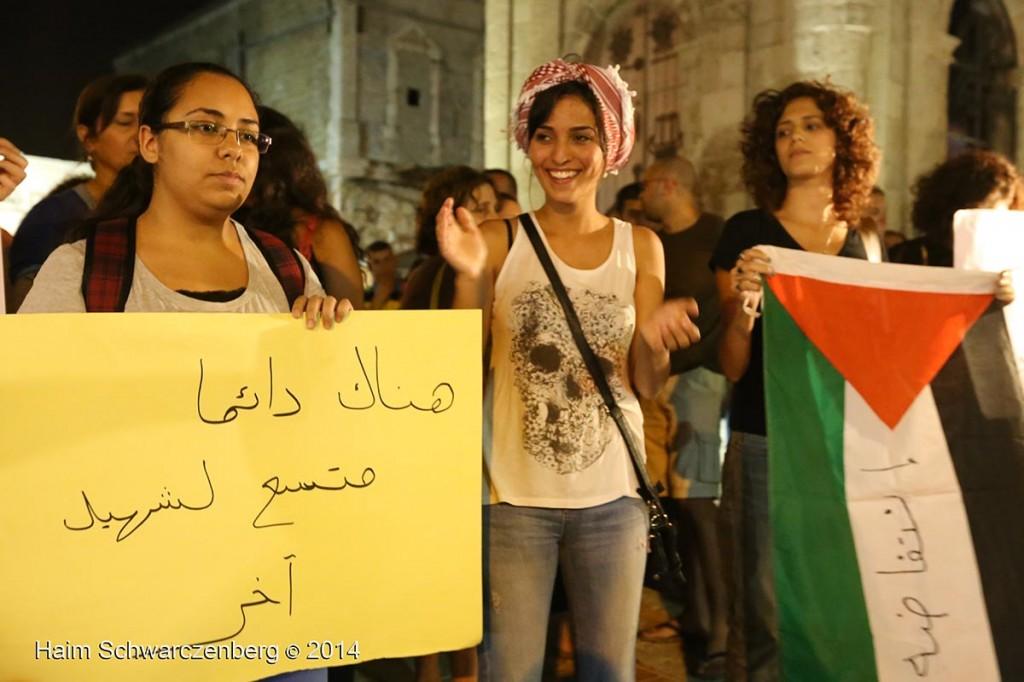Demonstration against racist violence, Yafa | IMG_8326