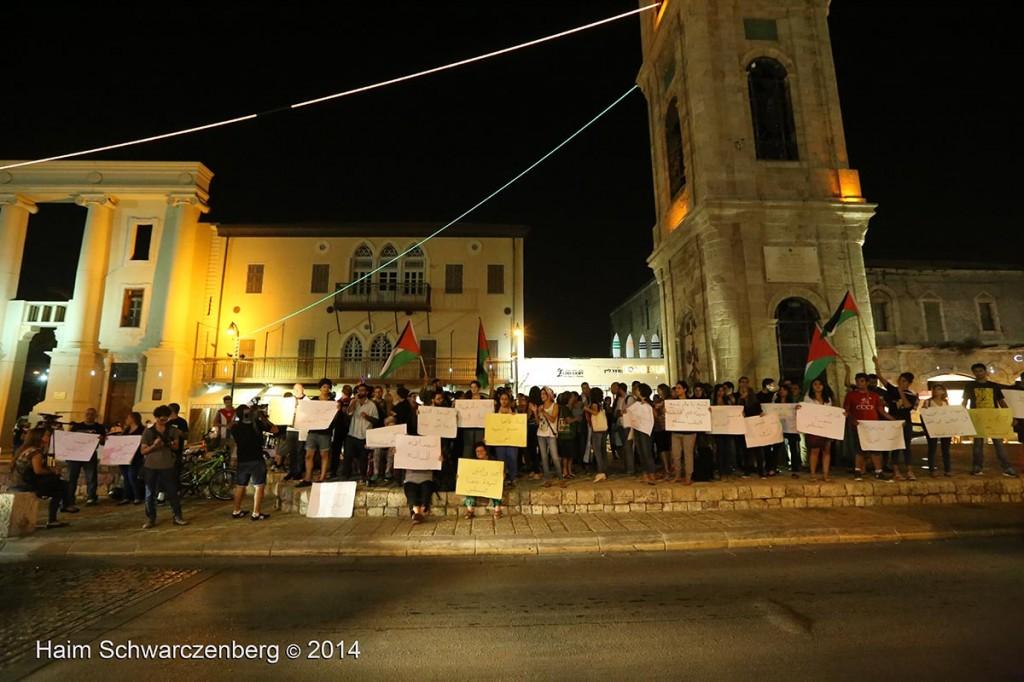 Demonstration against racist violence, Yafa | IMG_8343