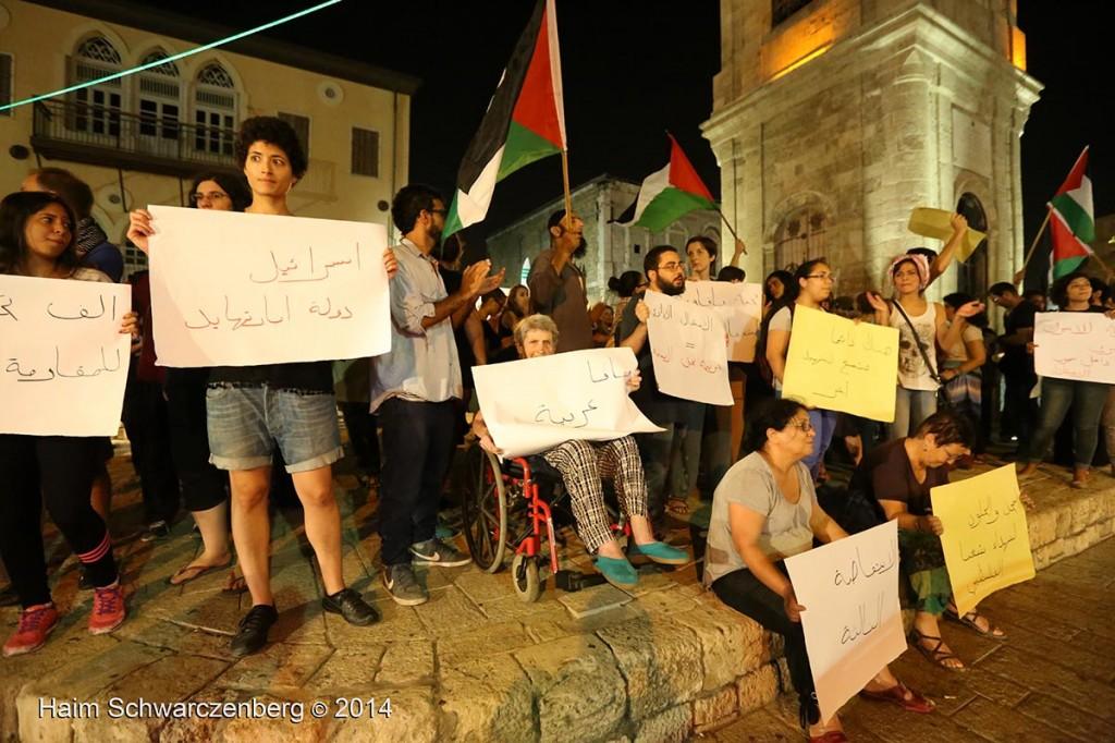 Demonstration against racist violence, Yafa | IMG_8369