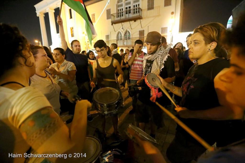 Demonstration against racist violence, Yafa | IMG_8390