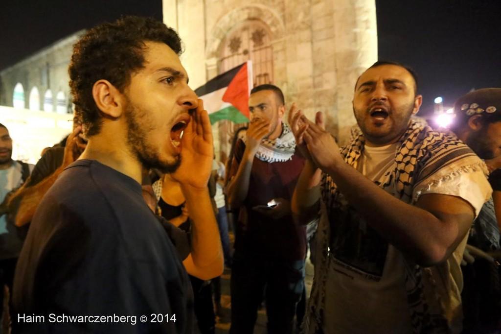 Demonstration against racist violence, Yafa | IMG_8409