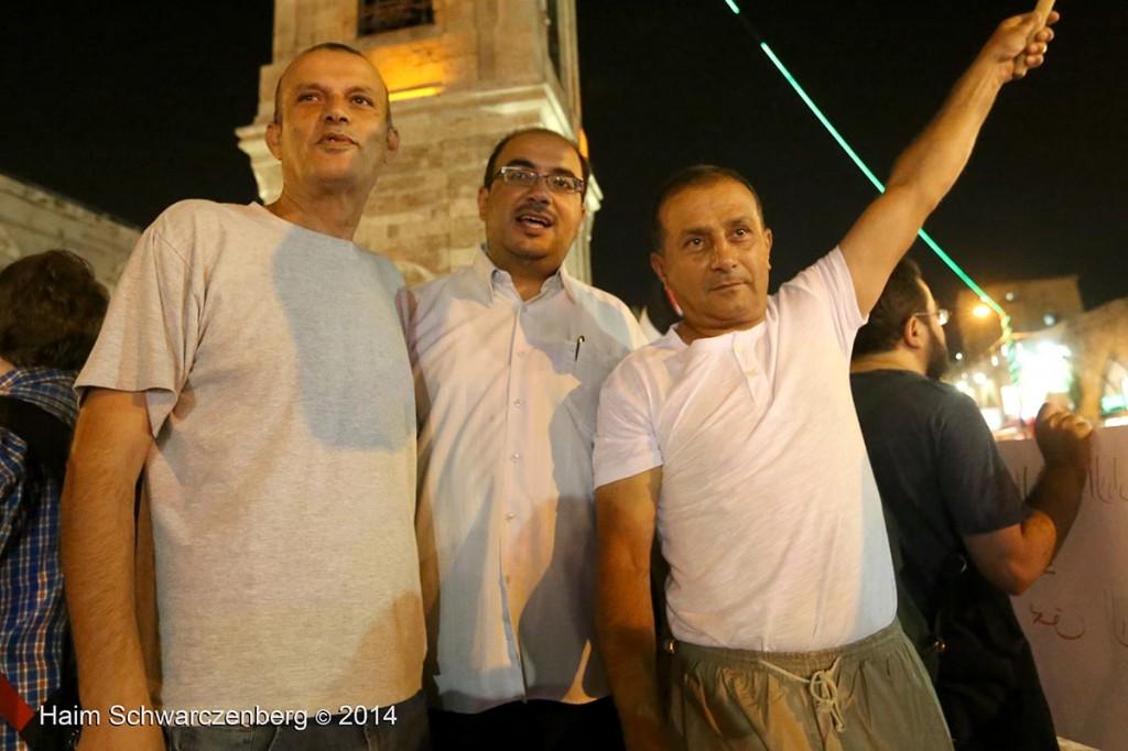 Demonstration against racist violence, Yafa | IMG_8432