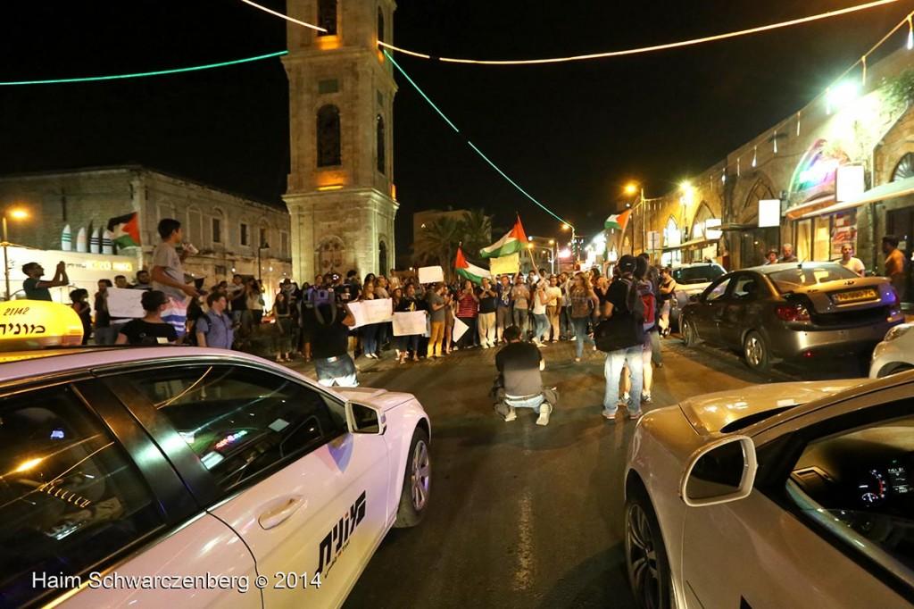 Demonstration against racist violence, Yafa | IMG_8472