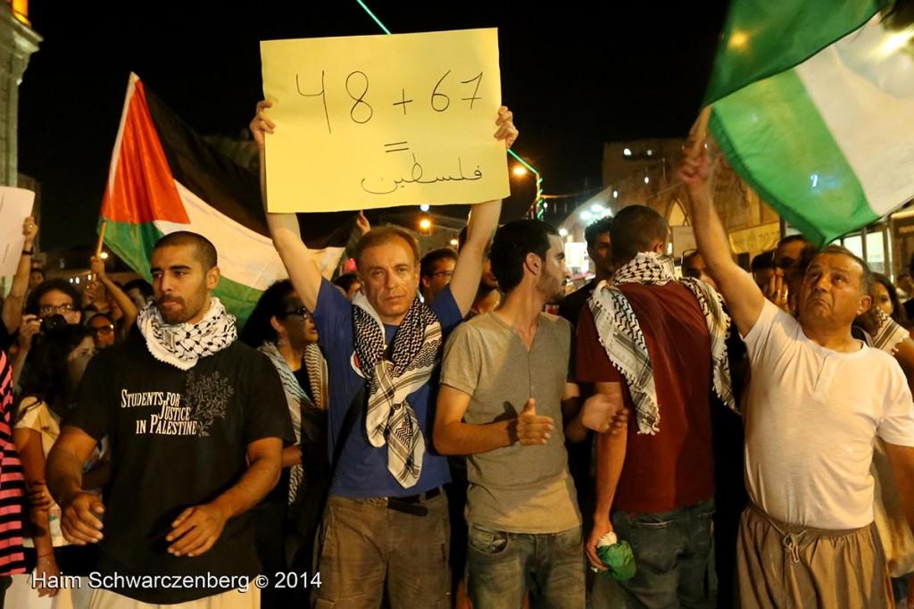 Demonstration against racist violence, Yafa | IMG_8484
