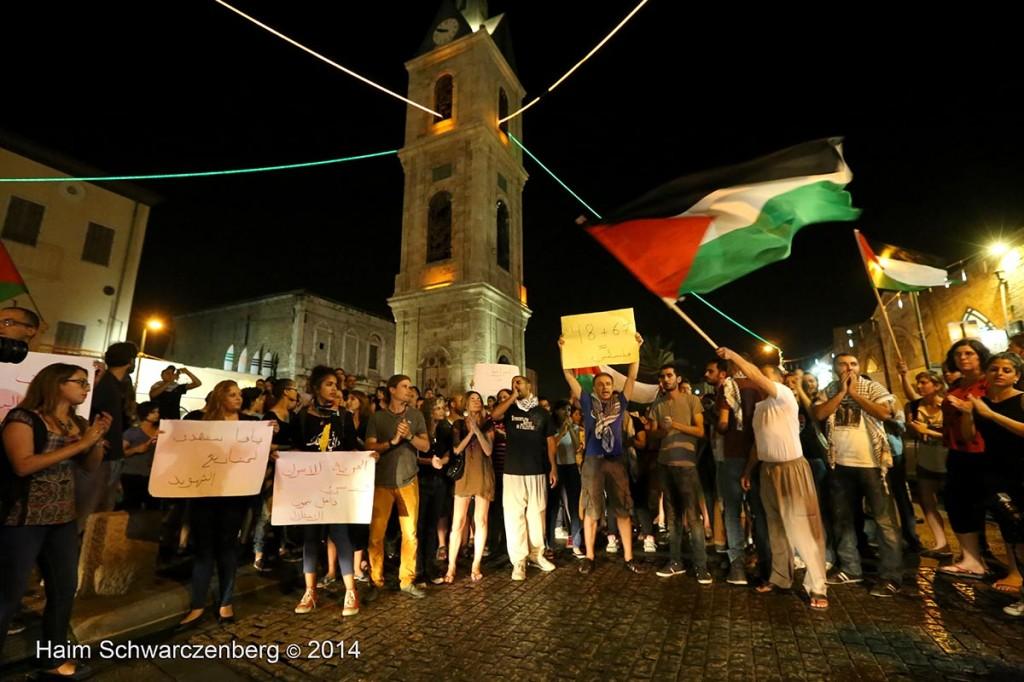 Demonstration against racist violence, Yafa | IMG_8504