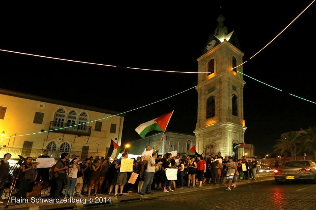 Demonstration against racist violence, Yafa | IMG_8527