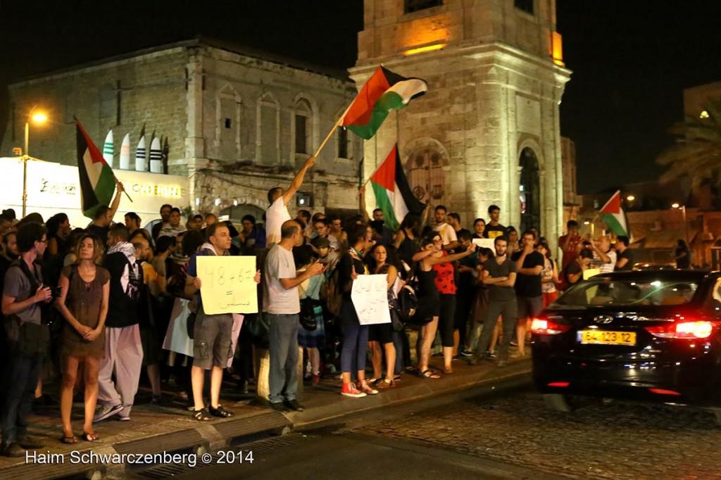 Demonstration against racist violence, Yafa | IMG_8529