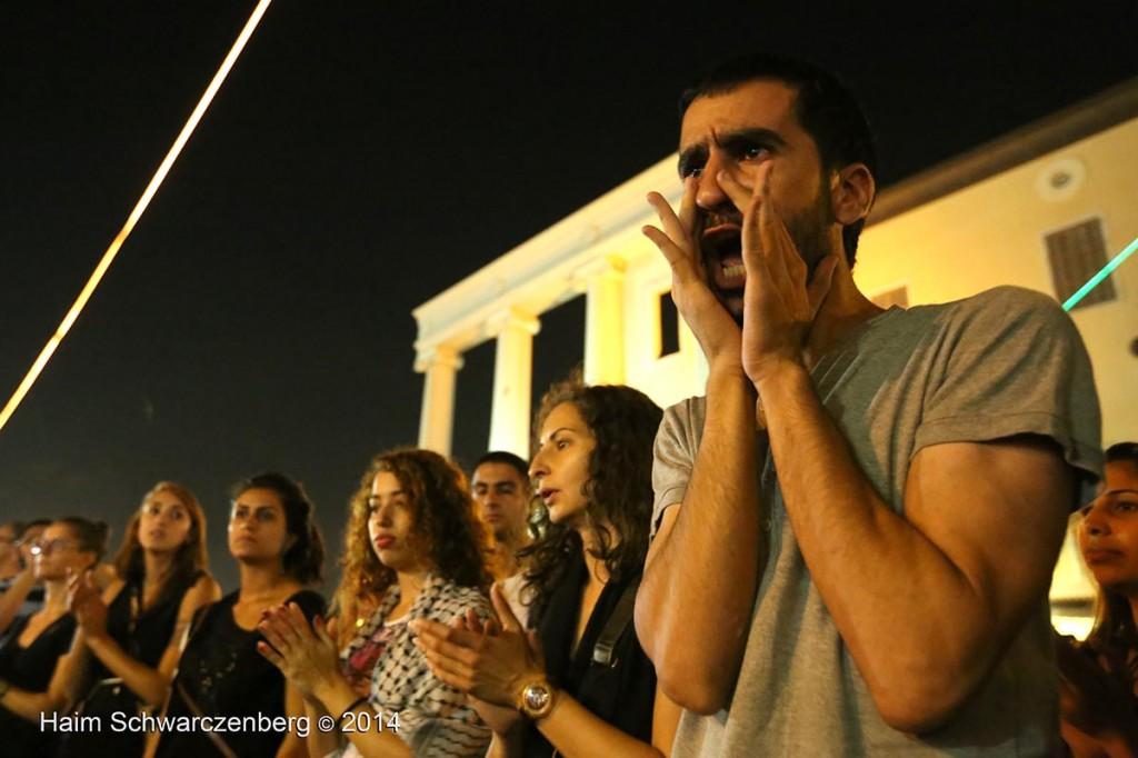Demonstration against racist violence, Yafa | IMG_8580