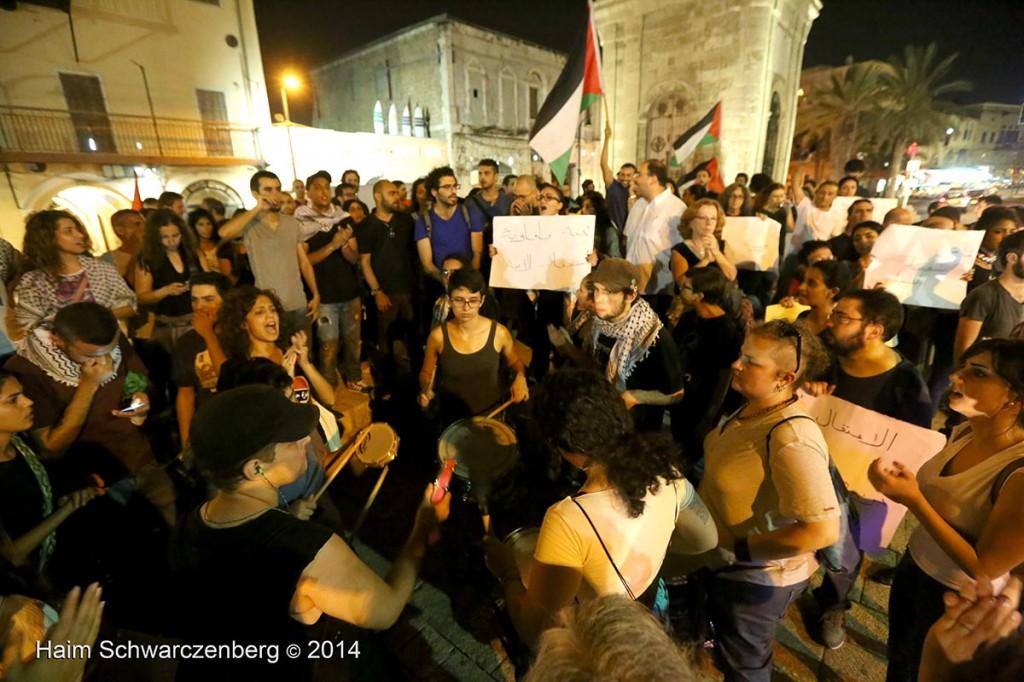 Demonstration against racist violence, Yafa | IMG_8600