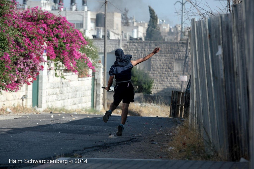 Clashes in Shu'fat, Jerusalem | IMG_4515