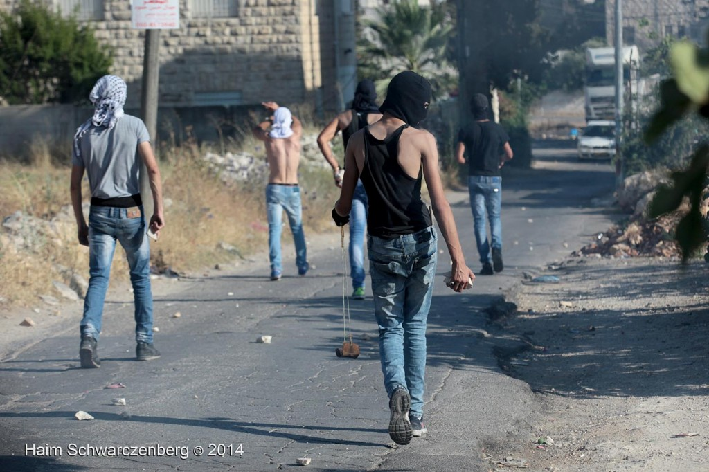 Clashes in Shu'fat, Jerusalem | IMG_4522