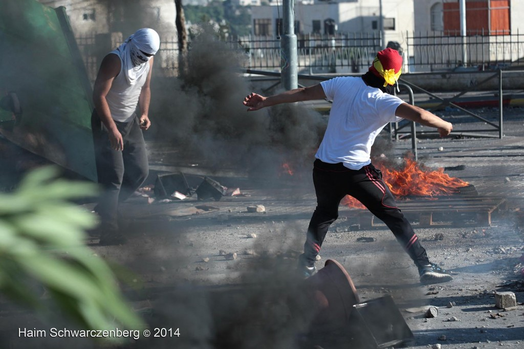 Clashes in Shu'fat, Jerusalem | IMG_4529