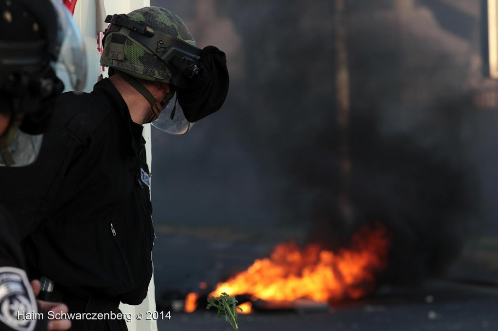 Clashes in 'Ar'ara | IMG_4883