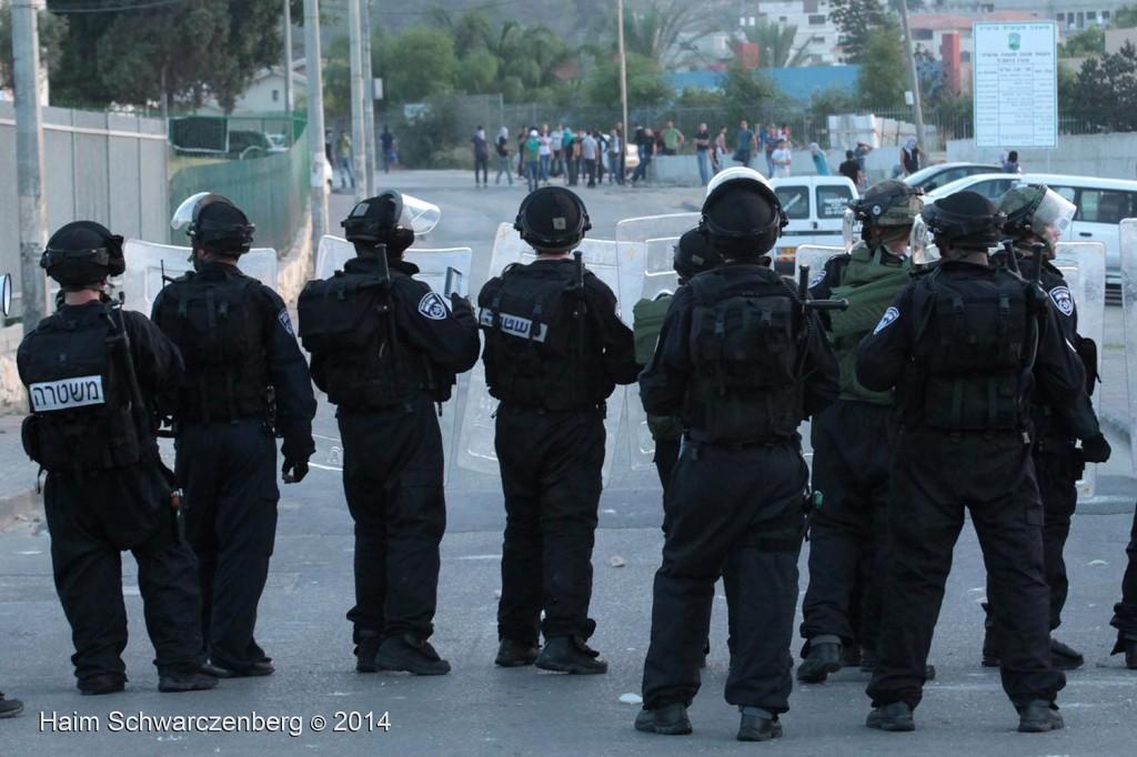 Clashes in 'Ar'ara | IMG_4994