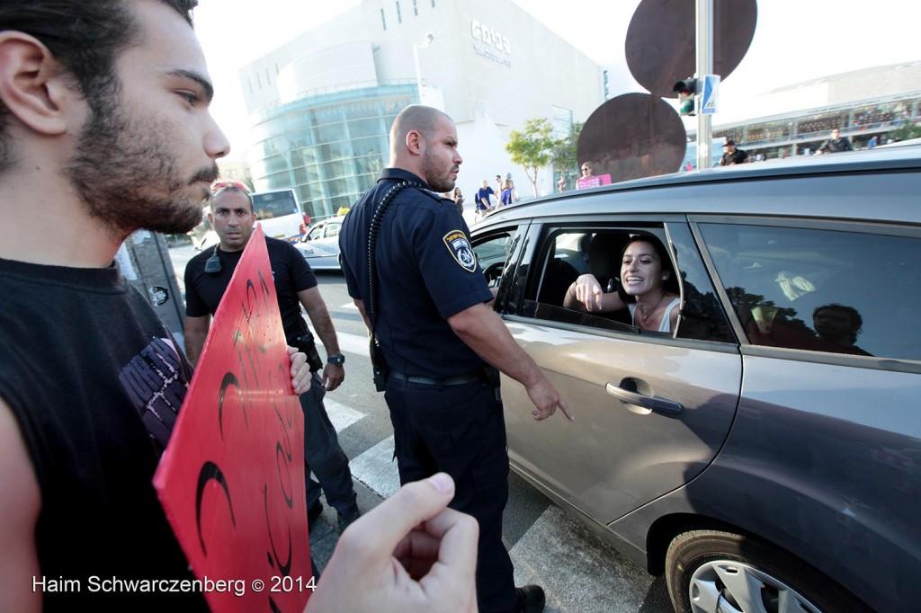 Protesting the assault of Gaza, Tel Aviv | IMG_6884
