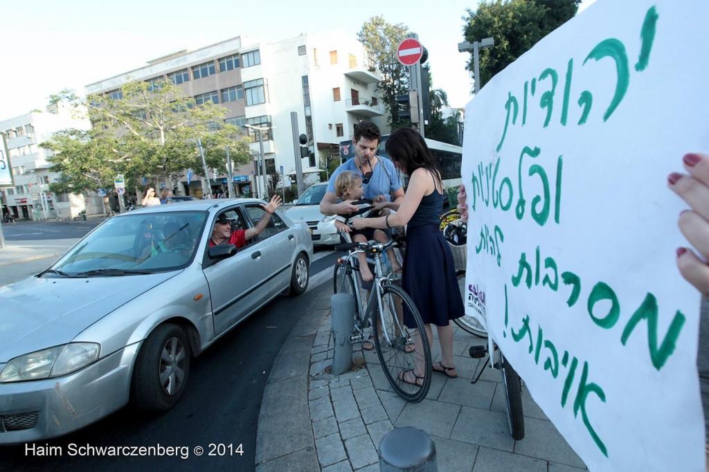 Protesting the assault of Gaza, Tel Aviv | IMG_6891