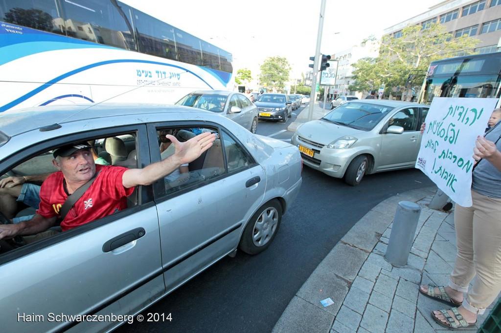 Protesting the assault of Gaza, Tel Aviv | IMG_6908