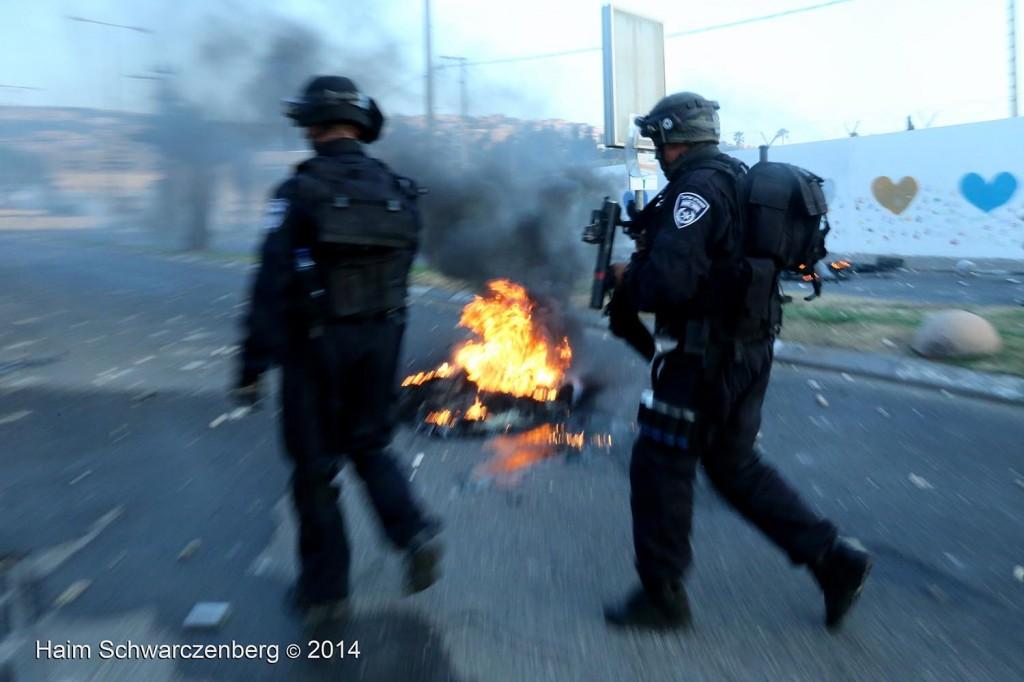 Clashes in 'Ar'ara | IMG_9112