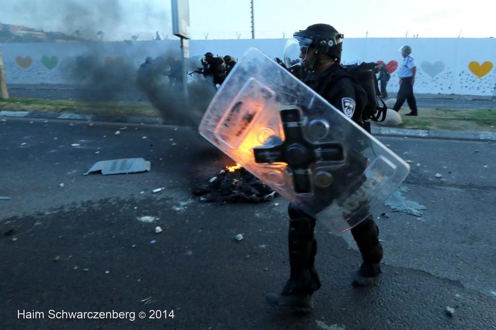 Clashes in 'Ar'ara | IMG_9131