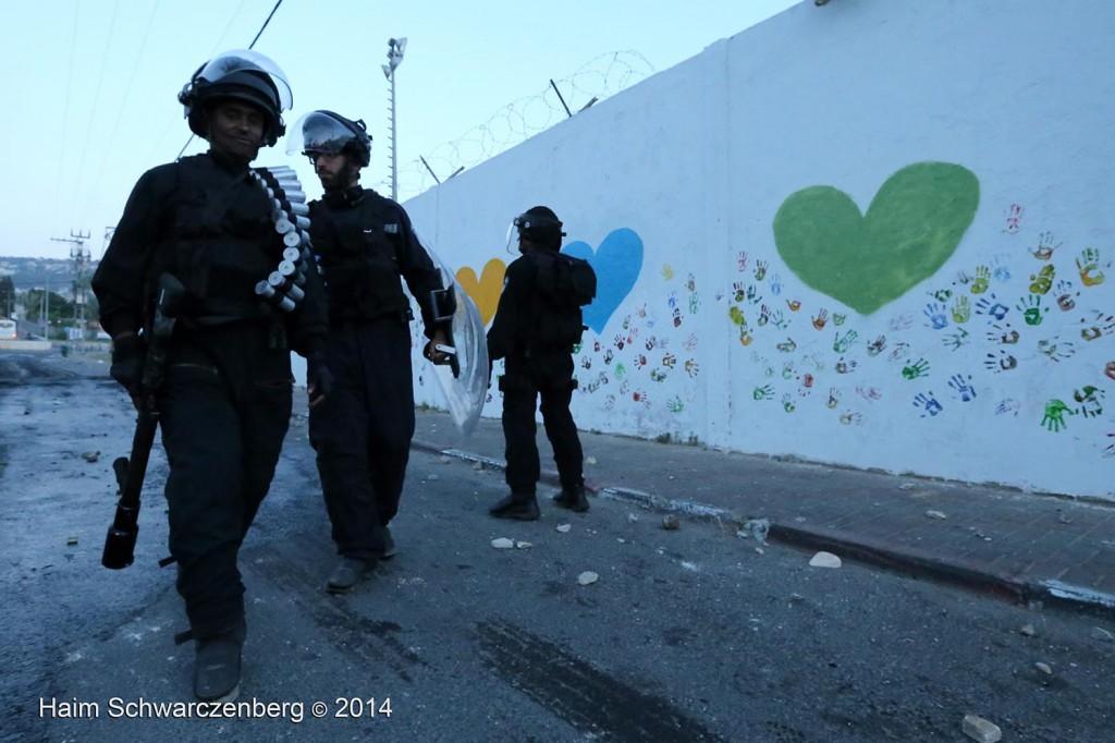 Clashes in 'Ar'ara | IMG_9169