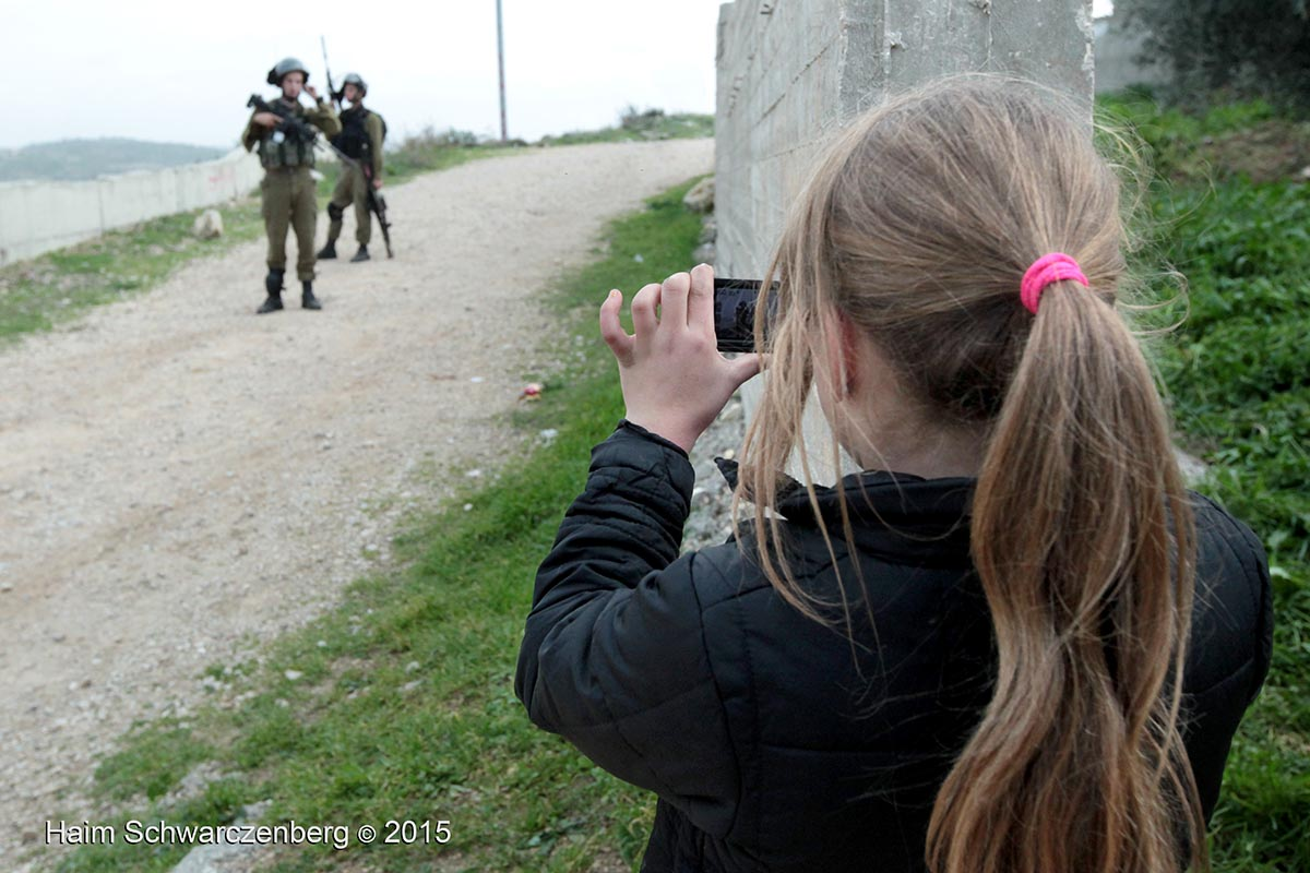 """Do you really think I will harm the girl?"" 