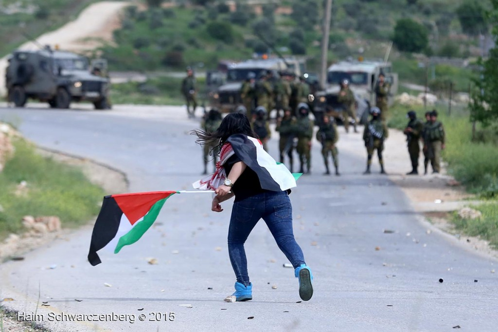 Land Day march in Nabi Saleh 28/03/2015 | IMG_8290