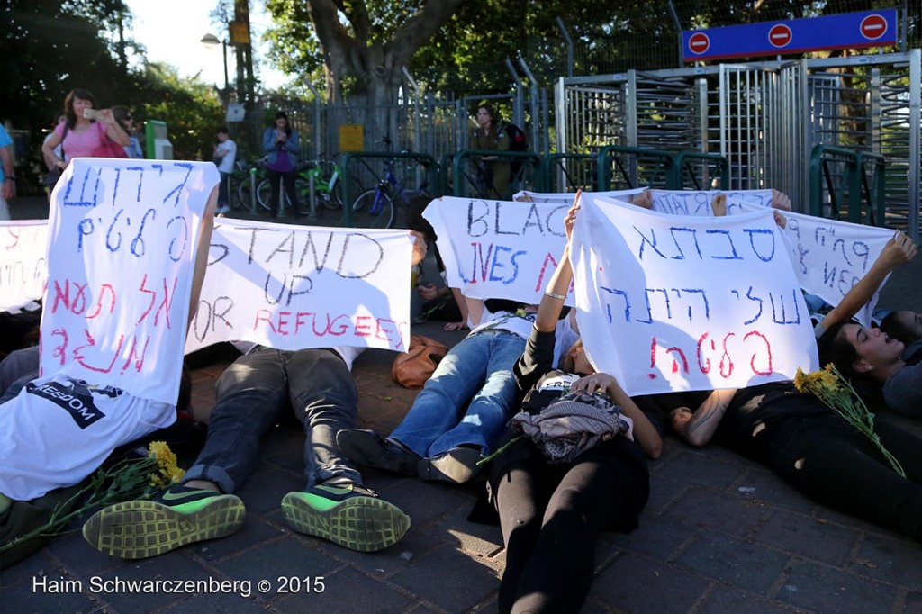 Protesting the expulsion of Asylum seekers, Tel Aviv 07/05/2015 | IMG_6090