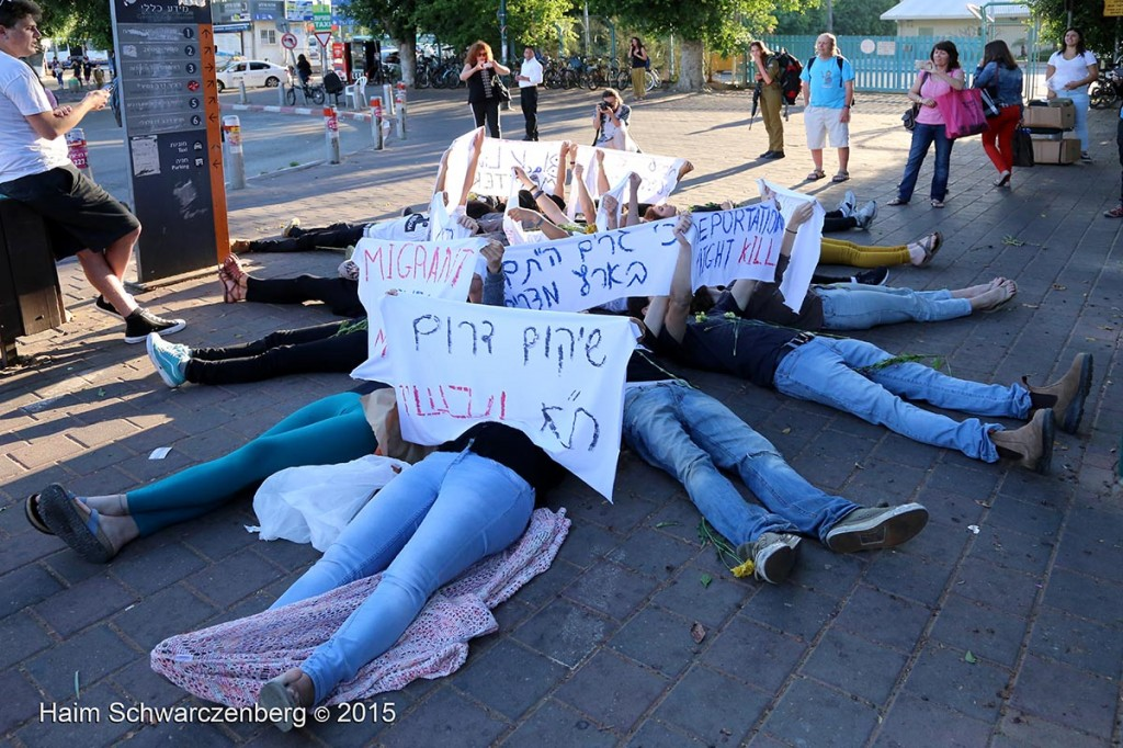 Protesting the expulsion of Asylum seekers, Tel Aviv 07/05/2015 | IMG_6108