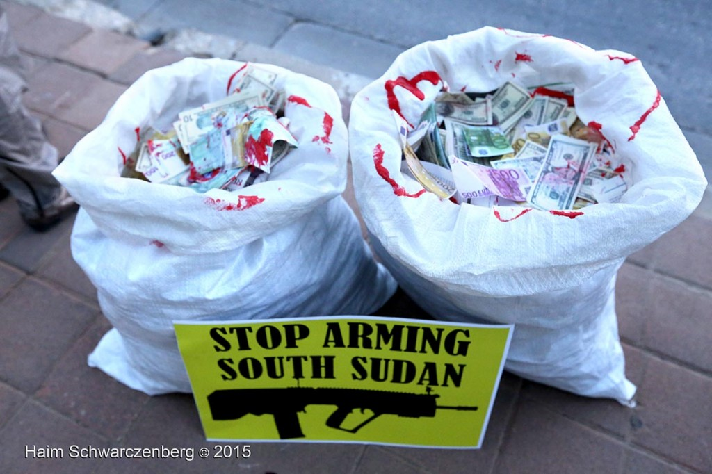 Vigil against Arms Sale to South Sudan 09/07/2015 | IMG_5754