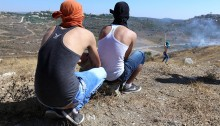 On the last Friday of Ramadan, residents of Nabi Saleh confronted the Israeli army, demanding an end to land expropriations and the release of political prisoners. The IDF attempted to disperse protesters using tear gas, rubber bullets and many rounds of live ammunition. No injuries reported.