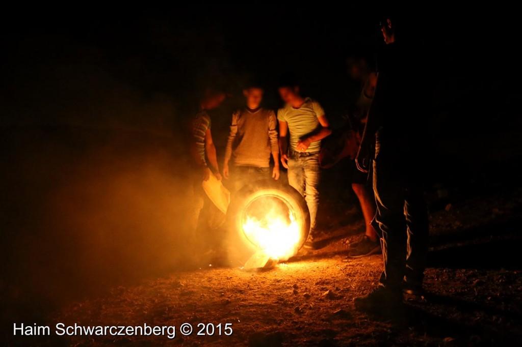 Firing live ammunition on Palestinian demonstrators 04/10/2015 | IMG_6461