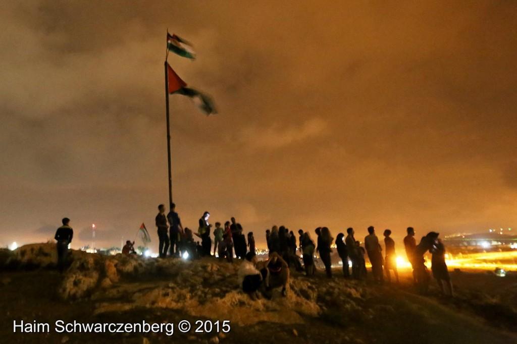 Firing live ammunition on Palestinian demonstrators 04/10/2015 | IMG_6512