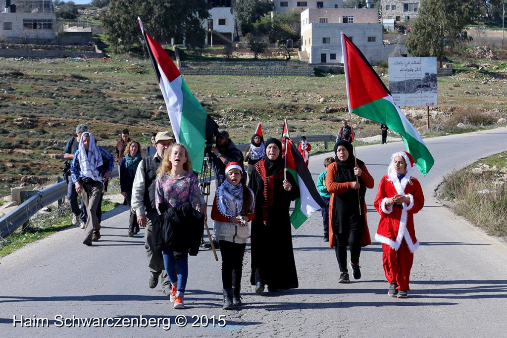 Nabi Saleh 25/12/2015 | IMG_4356