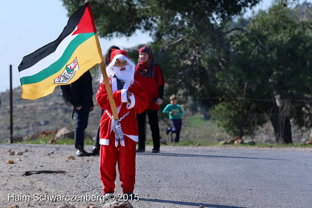 Nabi Saleh 25/12/2015 | IMG_4548
