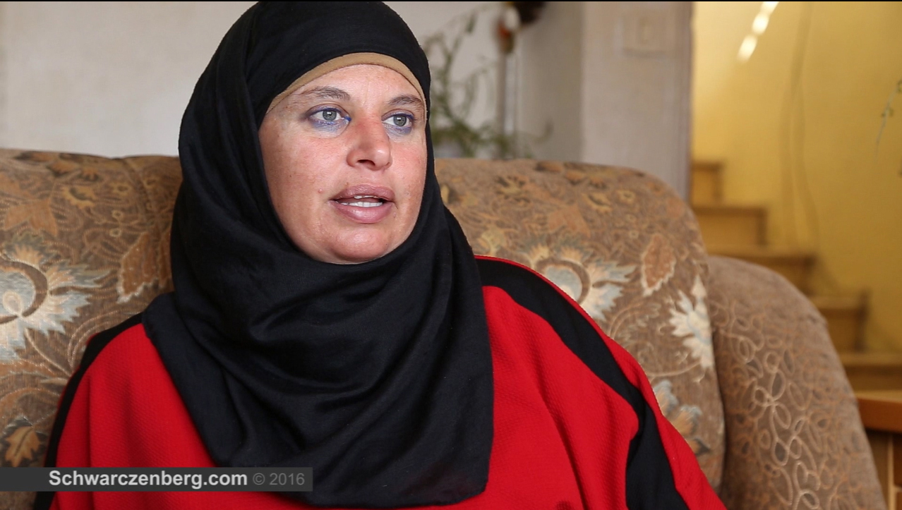 Human Rights Defender Manal Tamimi Talks about Her Arrest on International Women's Day